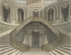 The staircase at Carlton House